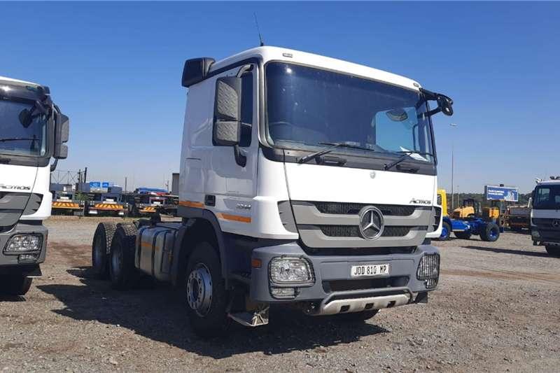 Mercedes Benz Truck tractors Double axle Actros 3344 6x4 Truck Tractor 2014