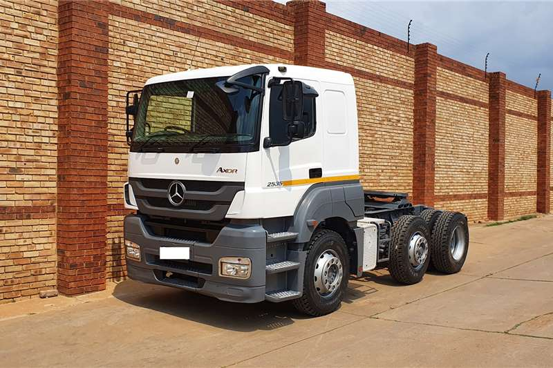 Mercedes Benz Truck tractors Double axle AXOR 2535,6x2,LIFT TAG AXLE AND NEW TYRES 2008