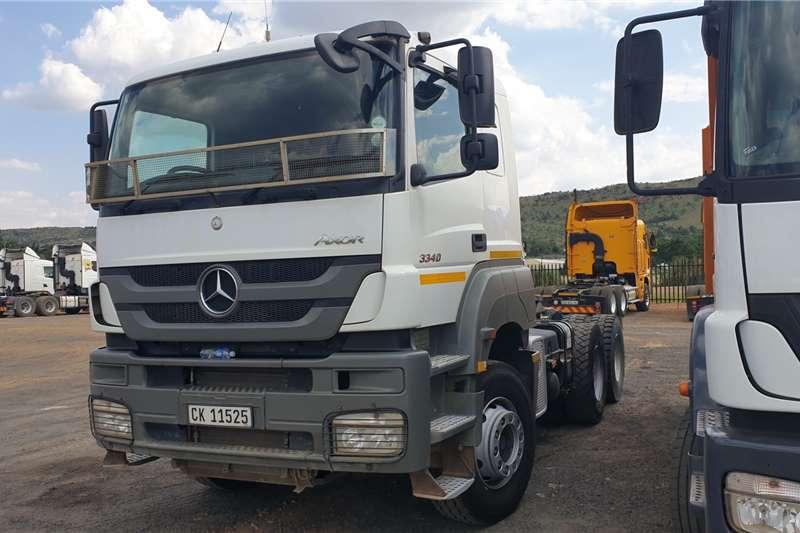 Mercedes Benz Truck tractors Double axle Axor 3340 2016