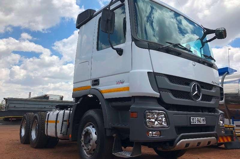 Mercedes Benz Double axle MERC BENZ 3344 ACTROS 6X4 TT Truck tractors