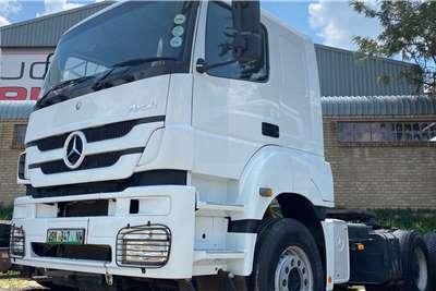 Mercedes Benz Double axle MERCEDES BENZ 3340 AXOR TT 6X4 Truck tractors