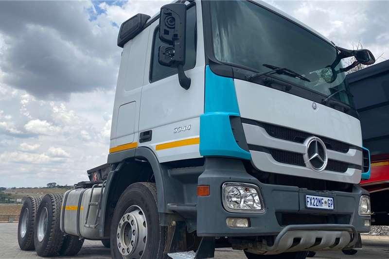 Mercedes Benz Double axle MERCEDES BENZ 3344 TT 6X4 ACTROS Truck tractors