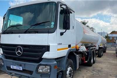 Mercedes Benz Double axle Mercedes Benz Actros 48 000 Litres Fuel Truck Truck tractors