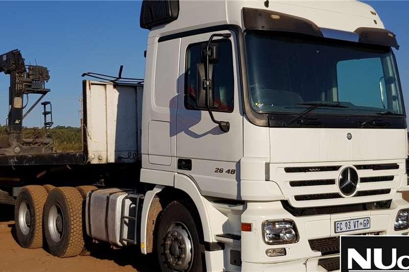 Mercedes Benz Truck tractors MERCEDES BENZ ACTROS 2648 6X4 HORSE