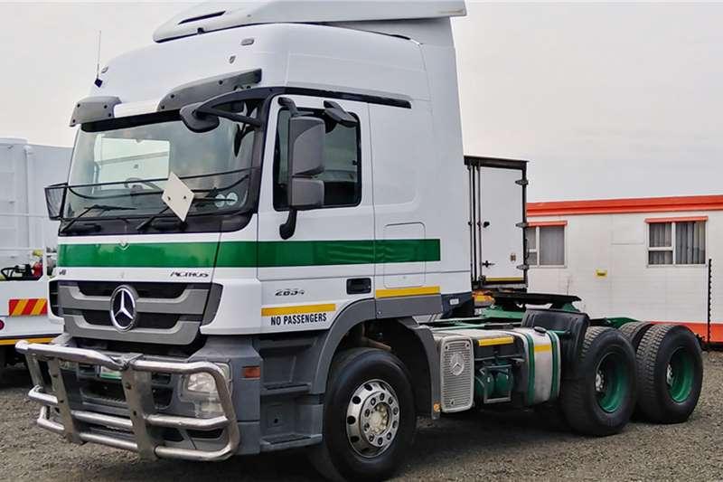 Mercedes Benz Truck tractors MERCEDES BENZ ACTROS 2654 2013