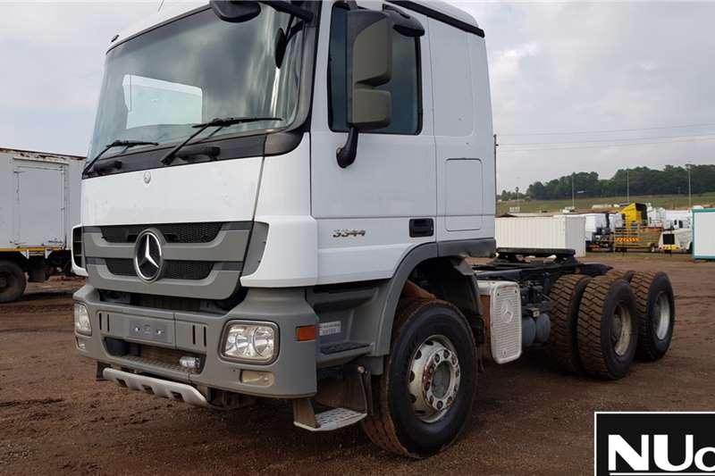 Mercedes Benz Truck tractors Mercedes Benz Actros 3344 6x4 Horse
