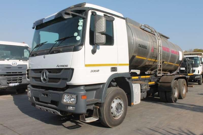 Mercedes Benz Truck Water tanker Actros 3350 14000L Water Tanker 2012