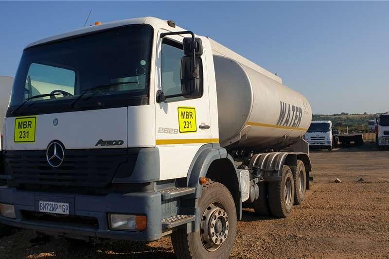 Mercedes Benz Truck Water Tanker Atego 2628 14 000Liter Aluminium Tank 2007