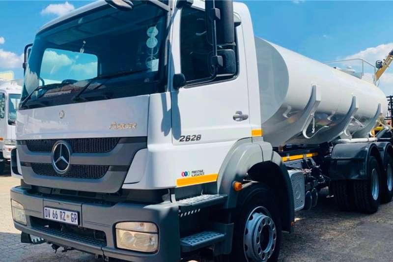 Mercedes Benz Truck Water tanker Axor 2628 2015
