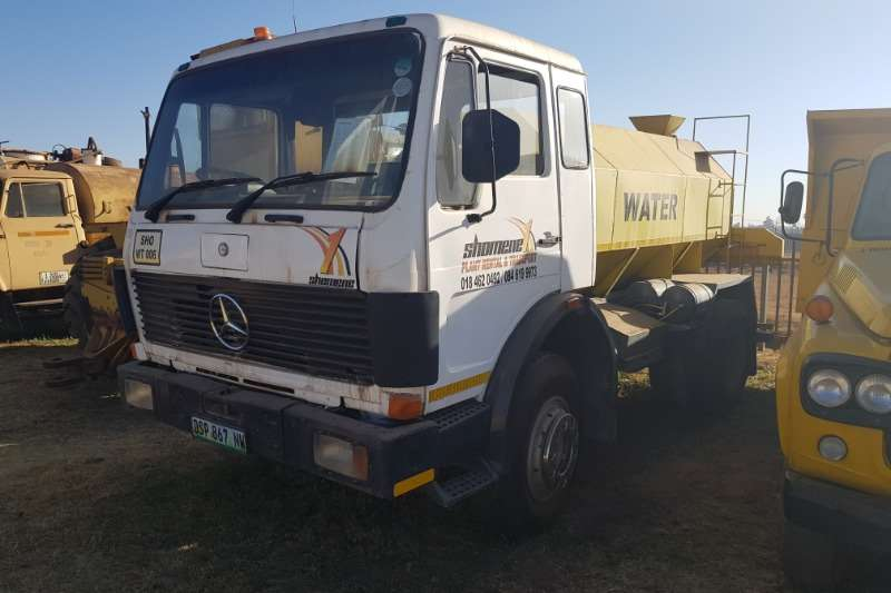 Mercedes Benz Truck Water tanker Mercedes Benz 1417 Water Tanker
