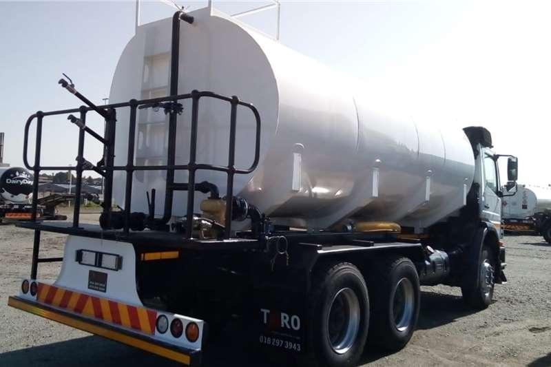 Mercedes Benz Water bowser Axor 2628 6x4 Rigid Truck   18,000L Water Tank 2014
