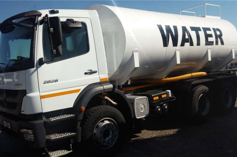 Mercedes Benz Water Bowser Trucks Axor 2628 6x4 18 000L Water Tanker Low Mileage 2014