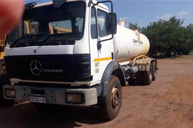 Mercedes Benz Water bowser trucks MERCEDES BENZ WATER BOWZER 18 000 LT 2 AXLE