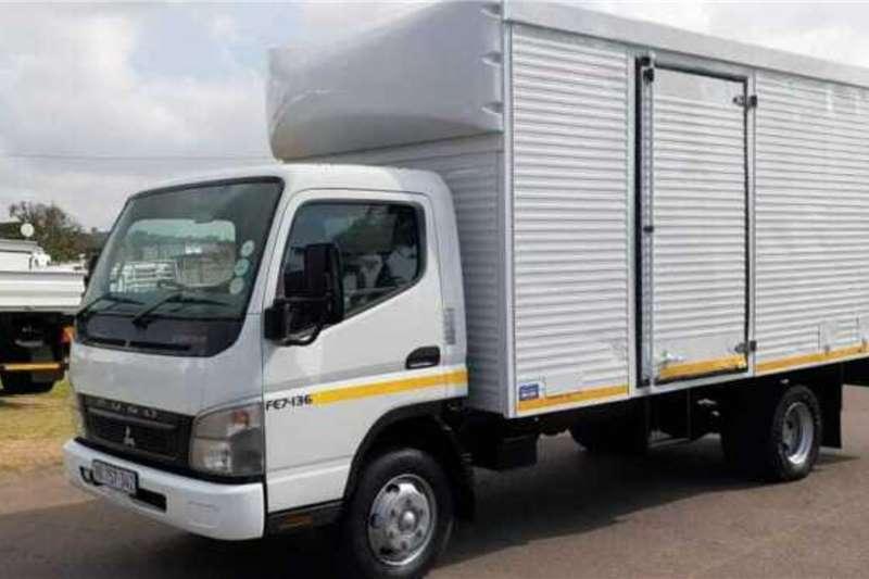Mitsubishi MITSUBISHI FUSO FE7.136 PANTECH BODY Box trucks