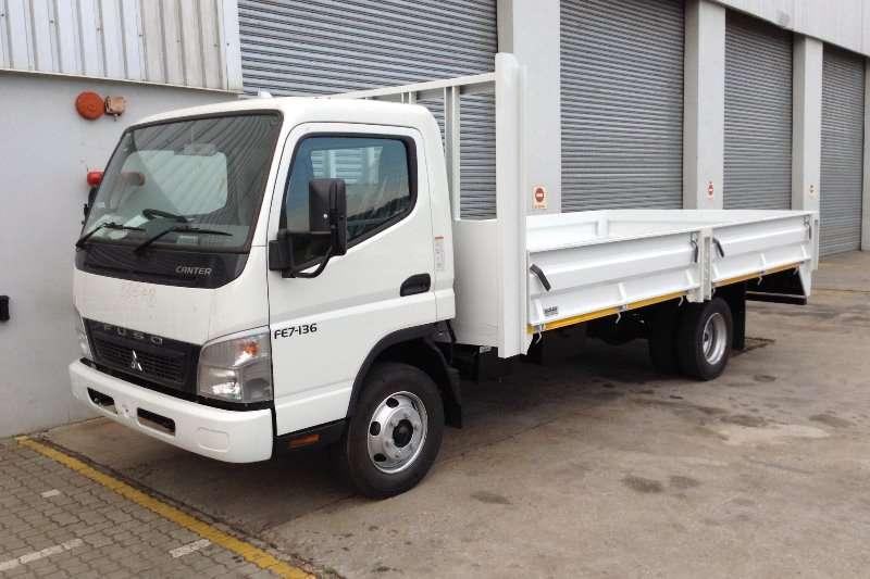 Mitsubishi Dropside trucks FUSO CANTER FE7 136 2020