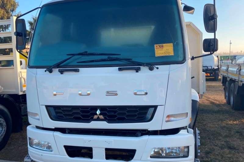 Mitsubishi Mitsubishi FN25 270 6x2 tag axle dropside truck fo Dropside trucks