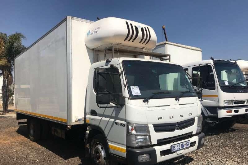 Mitsubishi Refrigerated trucks Canter FE8 150 Fridge Transfrig MT300 2015