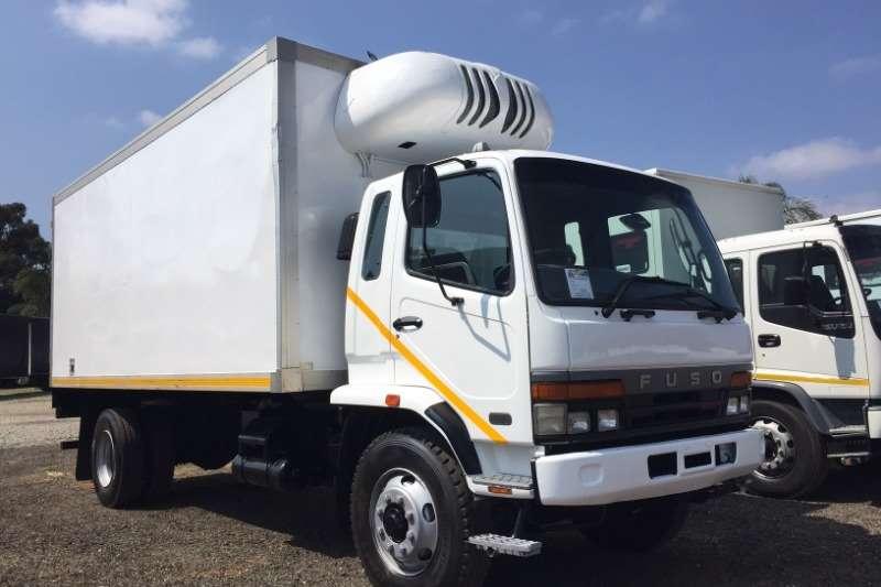Mitsubishi Refrigerated trucks Fuso FM14 213 Fridge Transfrig MT450 2010