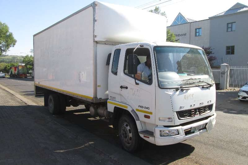 Mitsubishi Truck Closed body FK13 240 2011