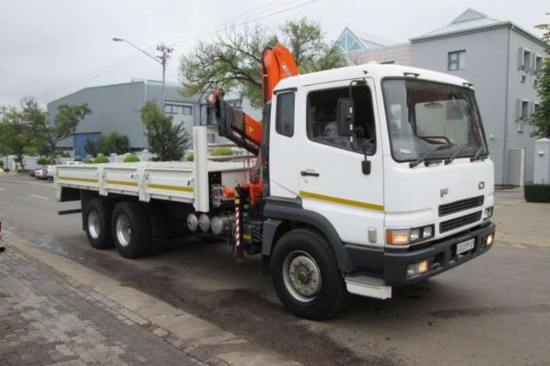Mitsubishi Truck Crane Truck FV26-340 2007