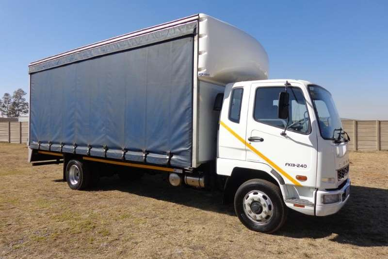 Mitsubishi Truck Curtain side FUSO FK13 240 8 ton 2014