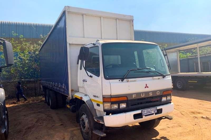 Mitsubishi Truck Curtain side FUSO FM16 253 2010