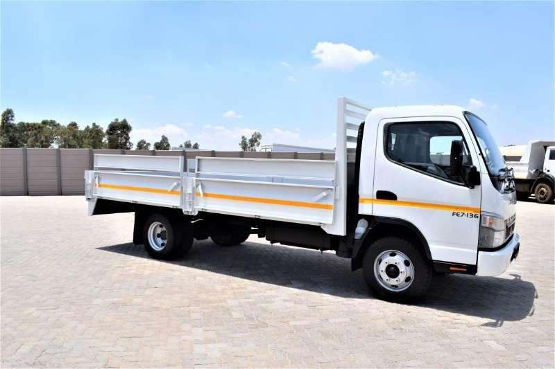 Mitsubishi Truck Dropside Fuso Canter FE7 136 (4 ton) 2015