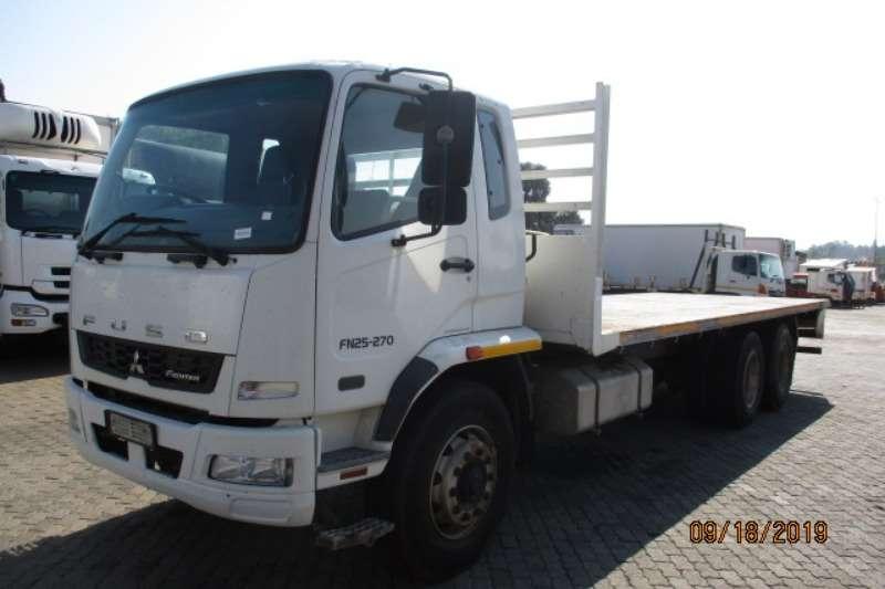 三菱卡车平甲板MITSUBISHI FN25 270 FLATDECK 2014