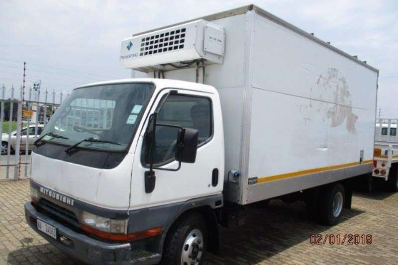 Mitsubishi Truck Fridge truck CANTER FE 7 143 REFRIGERATED TRUCK 2003