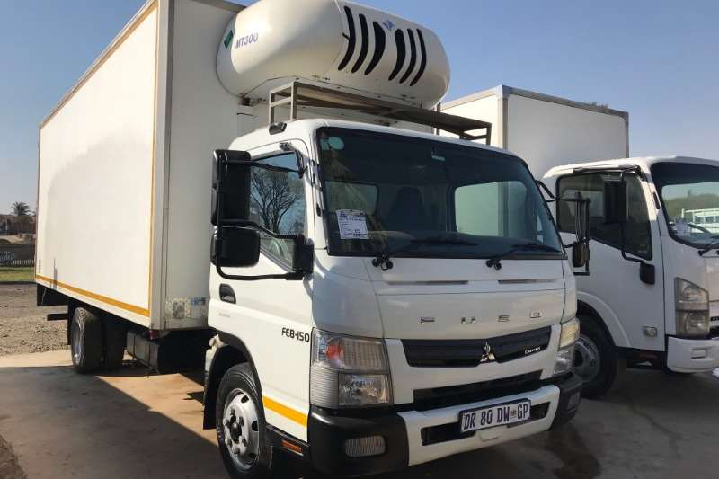 Mitsubishi Truck Fridge truck Canter FE8 150 Fridge Transfrig MT300 2015