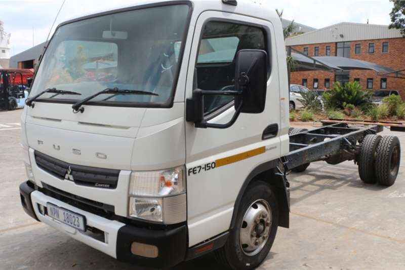 Mitsubishi Truck Fuso FE7 150 Chassis Cab 2015