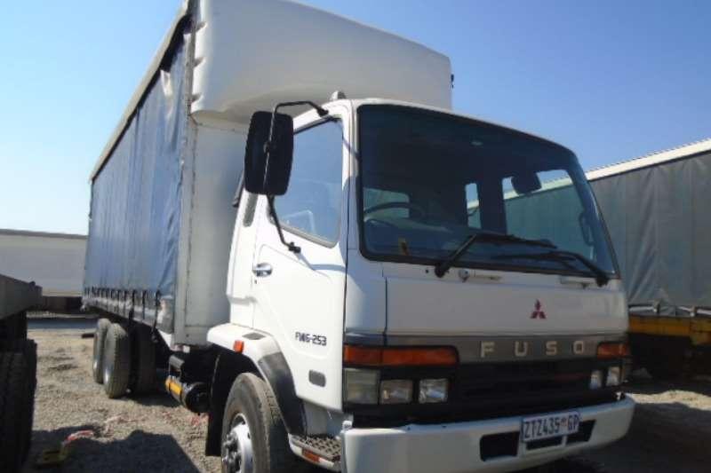 Mitsubishi Truck Fuso FM16-253 Tautliner Truck