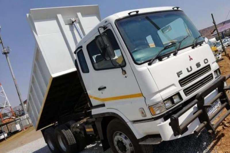 Mitsubishi Truck MITSUBISHI FUSO 10 CUBE TIPPER 2008