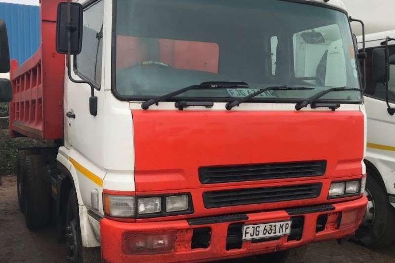 Mitsubishi Truck Tipping body FUSO FV26 310 10 CUBE 2006