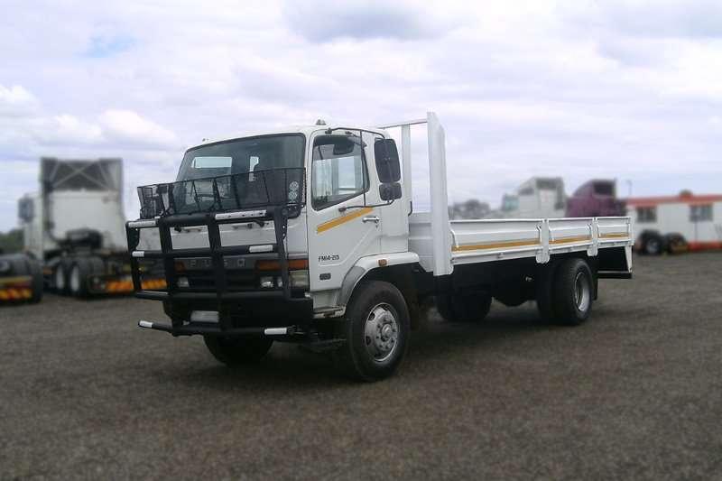 Mitsubishi Truck-Tractor MITSUBISHI FUSO FM14 213 8 TON DROP SIDES TRUCK 2010