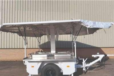 Karcher TFK 250 mobile field kitchen trailer Mobile kitchen trailer