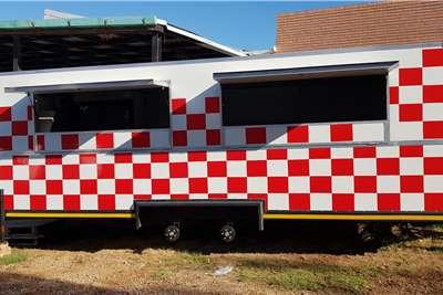 Mobile kitchen Trailer Mobile kitchen trailer