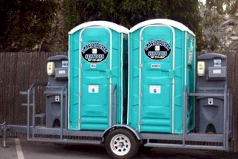 mobile toilette trailer Mobile toilette trailer