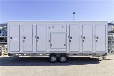 Mobile toilette Trailer Mobile toilette trailer