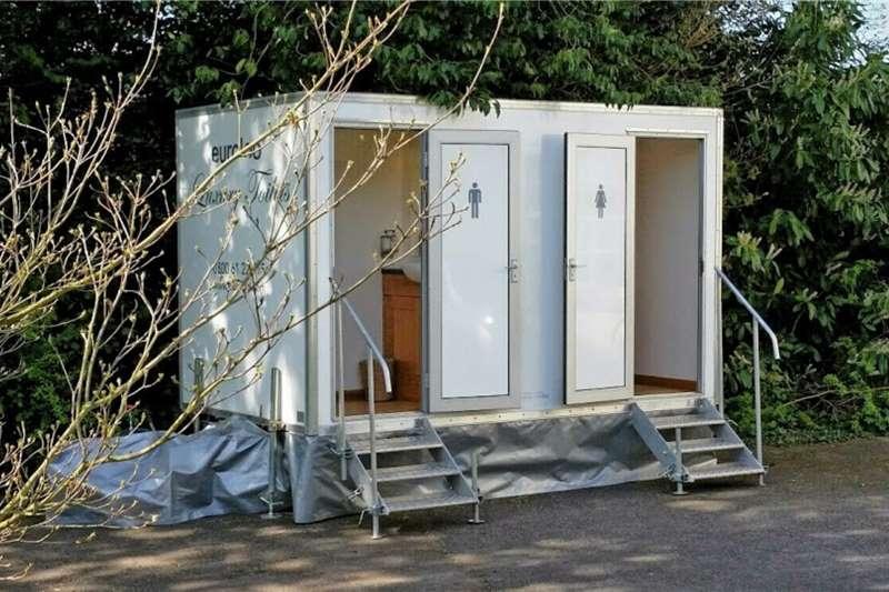 Mobile toilette trailer Mobile toilette Trailer 2020