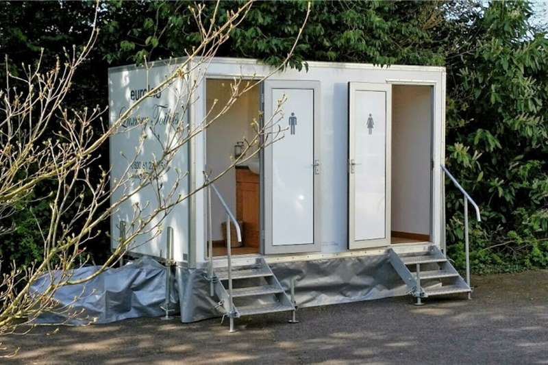 Mobile toilette trailer Mobile toilette Trailer 2020