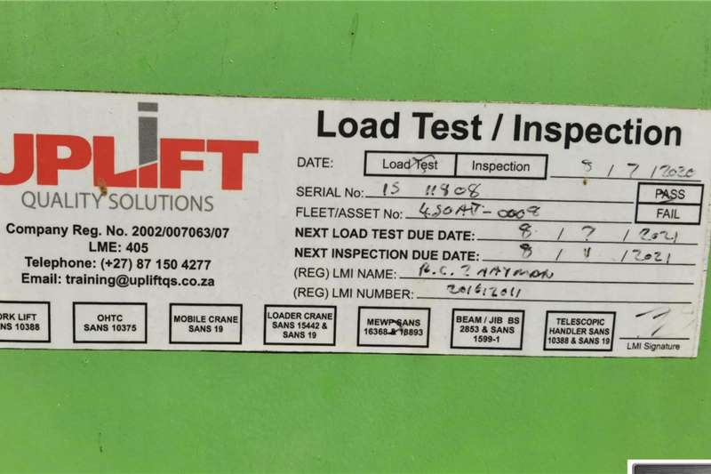 Nifty HR15D 4X4 BOOMLIFT Boom lifts