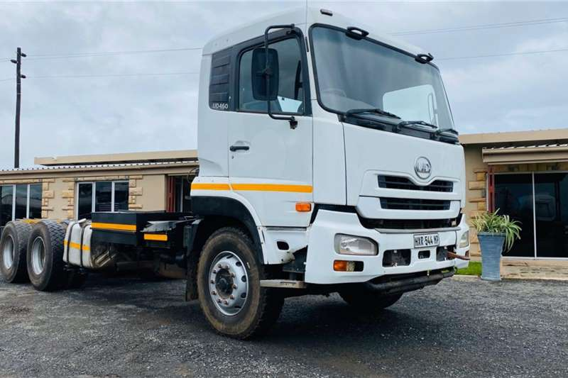Nissan Chassis cab trucks 6 x Nissan UD 460, 6x4 Chassis Cab 2011