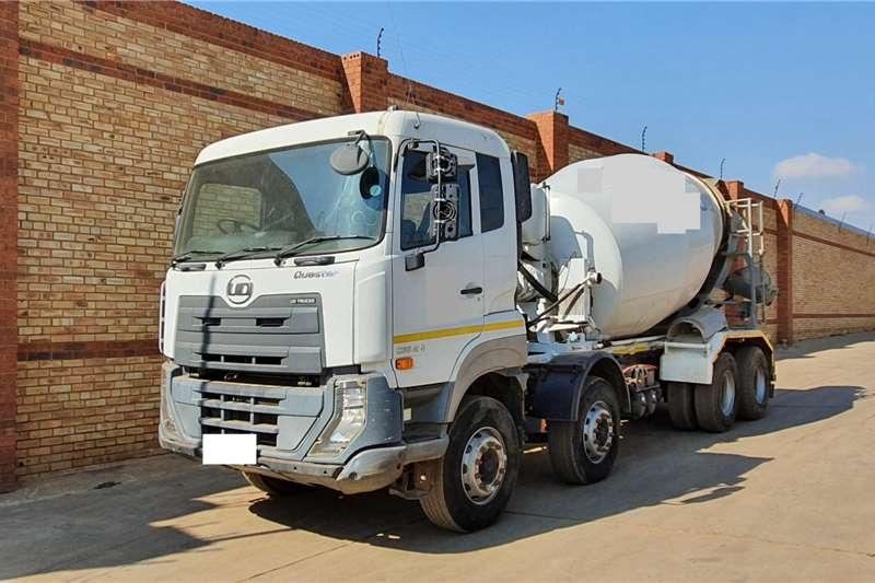 Nissan Concrete mixer trucks QUESTER CGE420,8x4 WITH 9 CUBE CONCRETE MIXER 2015