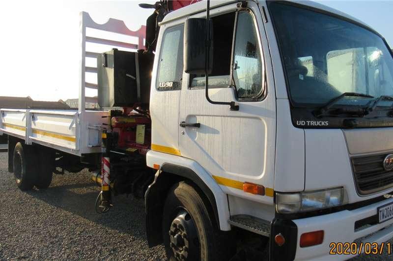 Nissan Crane trucks Nissan UD90 with Fassi F1700 crane 2006