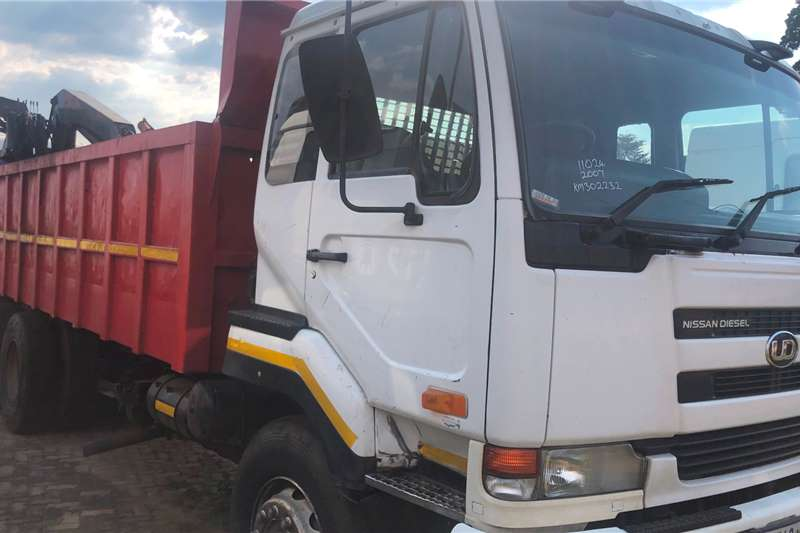 Nissan Crane Trucks UD290WB TRUCK WITH MASS SIDE FOR SCRAP AND 10 TO 2007