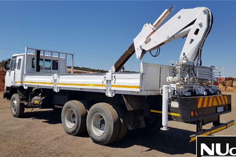 Nissan NISSAN DIESEL CW45 DROPSIDE CRANE TRUCK Dropside trucks