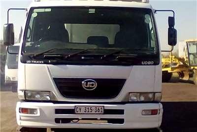 Nissan NISSAN UD80 8 TON THERMOKING FRIDGE BODY Refrigerated trucks
