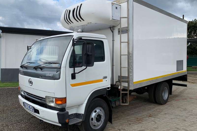 Nissan Refrigerated trucks UD40 fitted with Fridge Body 2014