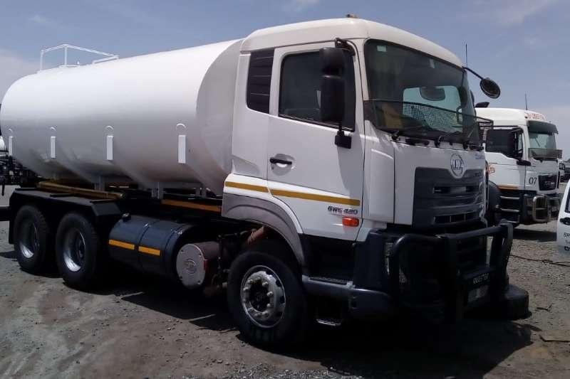 Nissan Rigid - tanker Nissan QUESTER GWE420 6x4 Rigid Truck 18,000l 2015